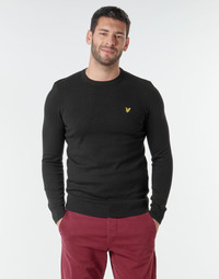 material Men jumpers Lyle & Scott KN400VC Black