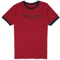 material Boy short-sleeved t-shirts Teddy Smith TICLASS 3 Red