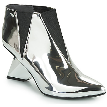 Shoes Women Ankle boots United nude LUCID ROCKIT Silver