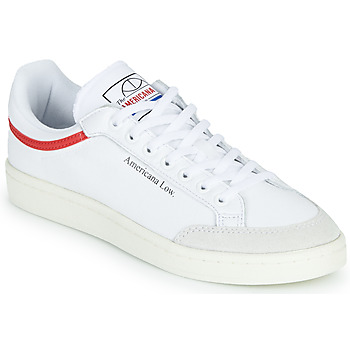 Shoes Low top trainers adidas Originals AMERICANA LOW White / Red