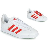 Shoes Women Low top trainers adidas Originals GAZELLE W White / Red