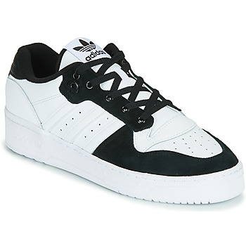 Shoes Men Low top trainers adidas Originals RIVALRY LOW White / Black