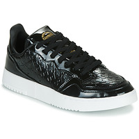 Shoes Women Low top trainers adidas Originals SUPERCOURT W Black / Varnish