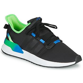 Shoes Men Low top trainers adidas Originals U_PATH RUN Black / Green