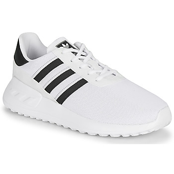Shoes Children Low top trainers adidas Originals LA TRAINER LITE C White / Black