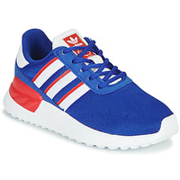Shoes Boy Low top trainers adidas Originals LA TRAINER LITE C Blue