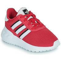 Shoes Girl Low top trainers adidas Originals LA TRAINER LITE EL Pink