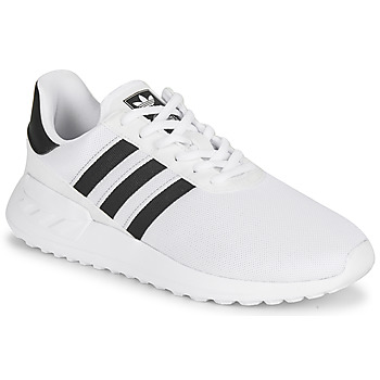 Shoes Children Low top trainers adidas Originals LA TRAINER LITE J White / Black