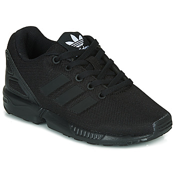 Shoes Children Low top trainers adidas Originals ZX FLUX C Black