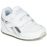 Shoes Girl Low top trainers Reebok Classic REEBOK ROYAL CLJOG White / Silver