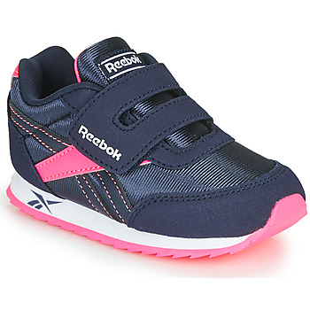Shoes Girl Low top trainers Reebok Classic REEBOK ROYAL CLJOG Marine / Pink