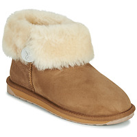 Shoes Women Mid boots EMU ORE FOLD OVER Beige