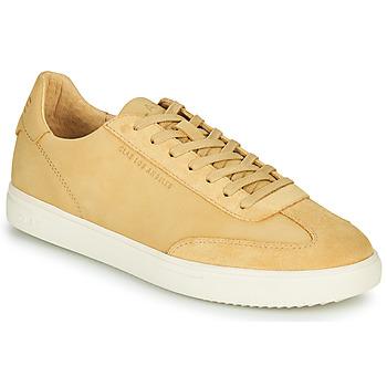 Shoes Men Low top trainers Claé DEANE Camel