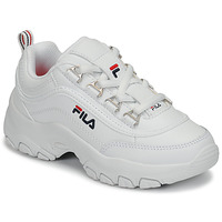 Shoes Girl Low top trainers Fila STRADA LOW KIDS White