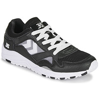 Shoes Men Low top trainers Hummel EDMONTON 3S LEATHER Black