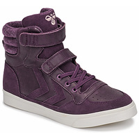 Shoes Girl High top trainers Hummel STADIL WINTER JR Violet