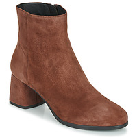 Shoes Women Ankle boots Geox CALINDA MID Brown