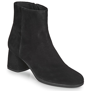 Shoes Women Ankle boots Geox CALINDA MID Black