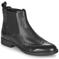 Shoes Women Ankle boots Geox JAYLON Black