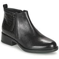 Shoes Women Mid boots Geox RESIA Black