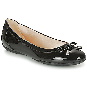 Shoes Women Ballerinas Geox CHARLENE Black