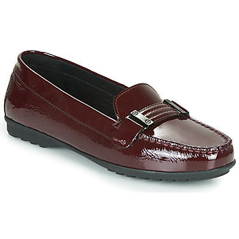 Shoes Women Loafers Geox ELIDIA Bordeaux