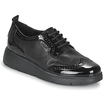 Shoes Women Derby shoes Geox ARLARA Black