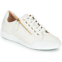 Shoes Women Low top trainers Geox MYRIA White