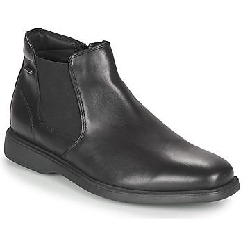 Shoes Men Mid boots Geox BRAYDEN 2FIT ABX Black