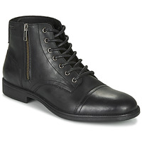 Shoes Men Mid boots Geox JAYLON Black