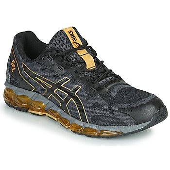 Shoes Men Low top trainers Asics GEL-QUANTUM 360 6 Black / Gold