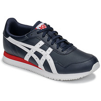 Shoes Men Low top trainers Asics TIGER RUNNER Blue / White / Red
