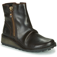 Shoes Women Mid boots Fly London MON944FLY Black