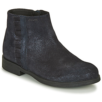 Shoes Girl Mid boots Geox AGGATA Marine