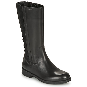 Shoes Girl Boots Geox AGGATA Black