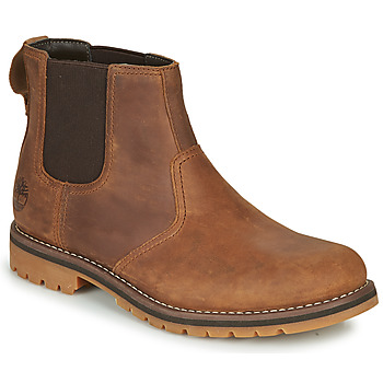 Shoes Men Mid boots Timberland LARCHMONT II CHELSEA Brown