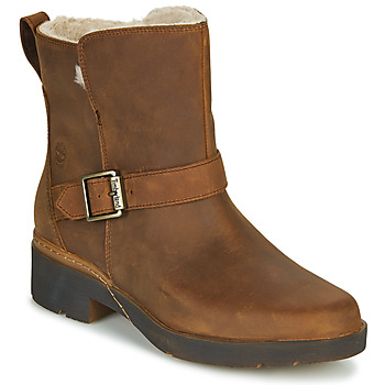 Shoes Women Mid boots Timberland GRACEYN BIKER WP Brown