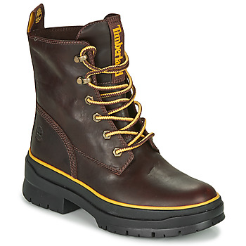 Shoes Women Mid boots Timberland MALYNN MID LACE EK+ WP Brown / Dark
