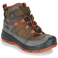 Shoes Children Hiking shoes Keen REDWOOD MID WP Brown