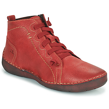 Shoes Women High top trainers Josef Seibel FERGEY 86 Red