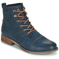 Shoes Women Mid boots Josef Seibel SIENNA 17 Marine