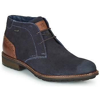 Shoes Men Mid boots Josef Seibel JASPER 51 Marine