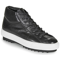 Shoes Men Low top trainers Melvin & Hamilton MICK Black