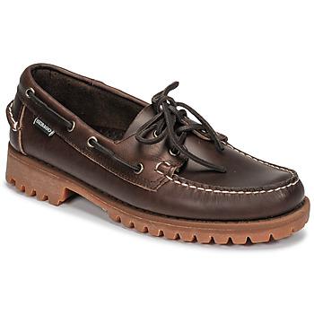 Shoes Men Boat shoes Sebago RANGERWAXY Brown