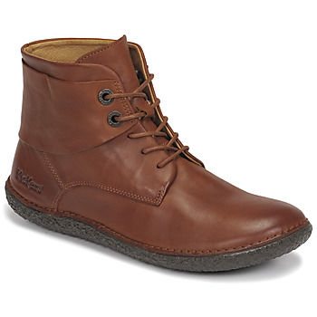 Shoes Women Mid boots Kickers FOWTOW Brown