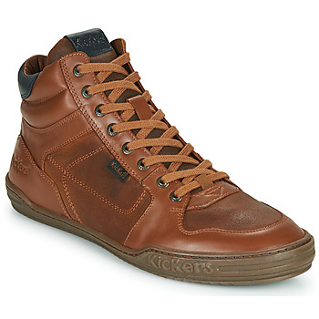 Shoes Men High top trainers Kickers JEXPLOREHIGH Brown