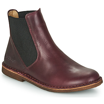 Shoes Women Mid boots Kickers TINTO Bordeaux