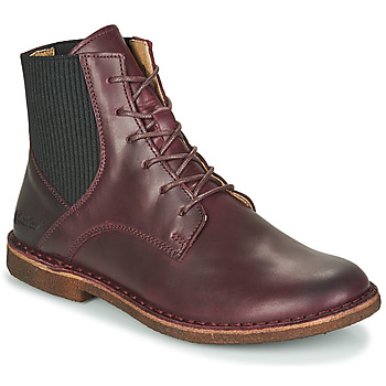 Shoes Women Mid boots Kickers TITI Bordeaux