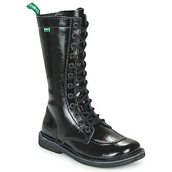Shoes Women Boots Kickers MEETKIKNEW Black / Patent