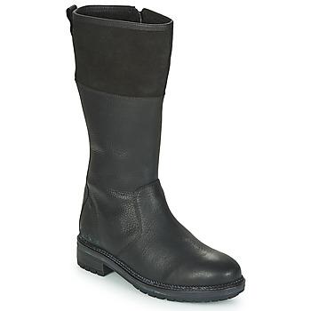 Shoes Women Boots Kickers WATHIGH Black